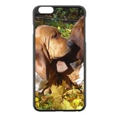 2 Bassets Apple iPhone 6 Plus/6S Plus Black Enamel Case