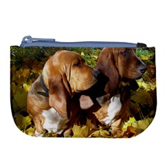 2 Bassets Large Coin Purse