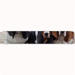 3 Basset Hound Puppies Small Bar Mats