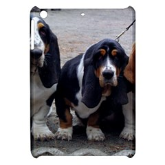3 Basset Hound Puppies Apple iPad Mini Hardshell Case