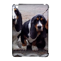 3 Basset Hound Puppies Apple iPad Mini Hardshell Case (Compatible with Smart Cover)