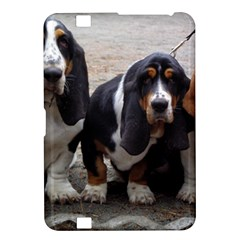 3 Basset Hound Puppies Kindle Fire HD 8.9
