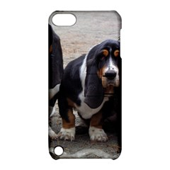 3 Basset Hound Puppies Apple iPod Touch 5 Hardshell Case with Stand