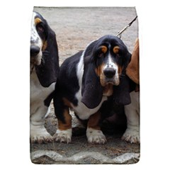3 Basset Hound Puppies Flap Covers (S)