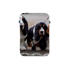 3 Basset Hound Puppies Apple iPad Mini Protective Soft Cases
