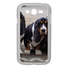 3 Basset Hound Puppies Samsung Galaxy Grand DUOS I9082 Case (White)