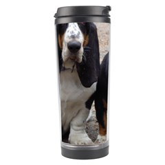 3 Basset Hound Puppies Travel Tumbler