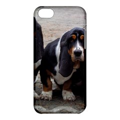 3 Basset Hound Puppies Apple iPhone 5C Hardshell Case
