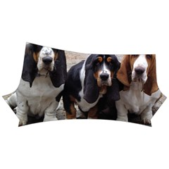 3 Basset Hound Puppies Yoga Shorts