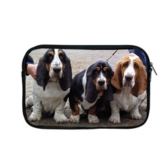 3 Basset Hound Puppies Apple MacBook Pro 13  Zipper Case