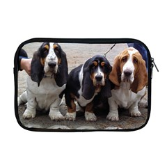 3 Basset Hound Puppies Apple MacBook Pro 17  Zipper Case