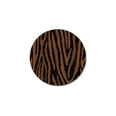SKN4 BK-MRBL BR-WOOD (R) Golf Ball Marker (4 pack)