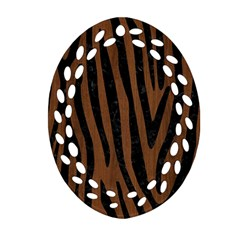 SKN4 BK-MRBL BR-WOOD Ornament (Oval Filigree)