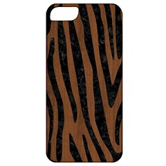 SKN4 BK-MRBL BR-WOOD Apple iPhone 5 Classic Hardshell Case