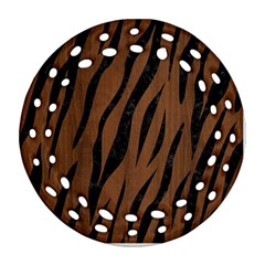 SKN3 BK-MRBL BR-WOOD (R) Ornament (Round Filigree)