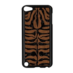 Skin2 Black Marble & Brown Wood (r) Apple Ipod Touch 5 Case (black)