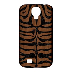 SKN2 BK-MRBL BR-WOOD (R) Samsung Galaxy S4 Classic Hardshell Case (PC+Silicone)