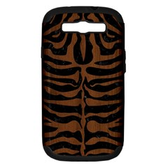 SKN2 BK-MRBL BR-WOOD Samsung Galaxy S III Hardshell Case (PC+Silicone)