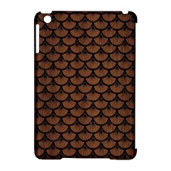 SCA3 BK-MRBL BR-WOOD (R) Apple iPad Mini Hardshell Case (Compatible with Smart Cover)