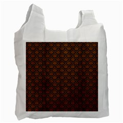 SCA2 BK-MRBL BR-WOOD (R) Recycle Bag (One Side)