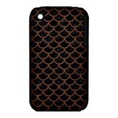 SCA1 BK-MRBL BR-WOOD iPhone 3S/3GS