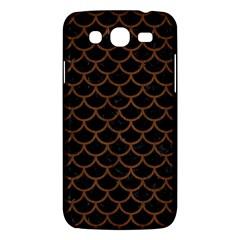 Sca1 Bk Mrbl Br Wood Samsung Galaxy Mega 5 8 I9152 Hardshell Case