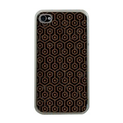 HXG1 BK-MRBL BR-WOOD Apple iPhone 4 Case (Clear)