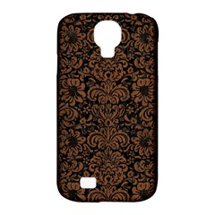 DMS2 BK-MRBL BR-WOOD Samsung Galaxy S4 Classic Hardshell Case (PC+Silicone)