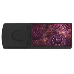 Buried Pirate Treasure of Fractal Pearls and Coins USB Flash Drive Rectangular (4 GB)