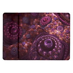 Buried Pirate Treasure of Fractal Pearls and Coins Samsung Galaxy Tab 10.1  P7500 Flip Case