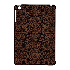 Dms2 Bk Mrbl Br Wood Apple Ipad Mini Hardshell Case (compatible With Smart Cover)