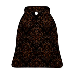 DMS1 BK-MRBL BR-WOOD Bell Ornament (Two Sides)