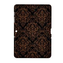 Dms1 Bk Mrbl Br Wood Samsung Galaxy Tab 2 (10 1 ) P5100 Hardshell Case