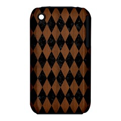 DIA1 BK-MRBL BR-WOOD iPhone 3S/3GS