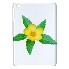 Yellow Flower With Leaves Photo Apple iPad Mini Hardshell Case