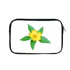 Yellow Flower With Leaves Photo Apple Macbook Pro 13  Zipper Case