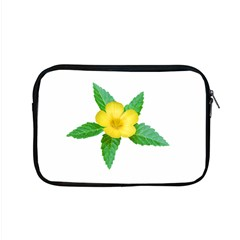 Yellow Flower With Leaves Photo Apple Macbook Pro 15  Zipper Case
