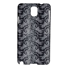 Black Floral Lace Pattern Samsung Galaxy Note 3 N9005 Hardshell Case