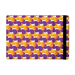 Purple And Yellow Abstract Pattern Apple Ipad Mini Flip Case