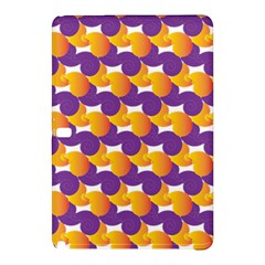 Purple And Yellow Abstract Pattern Samsung Galaxy Tab Pro 12 2 Hardshell Case