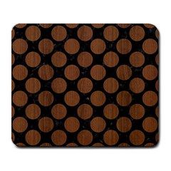 CIR2 BK-MRBL BR-WOOD Large Mousepads
