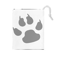Furry Canine Drawstring Pouches (large)