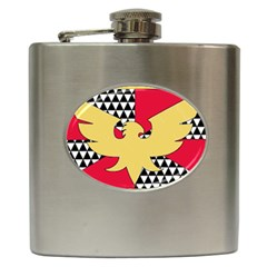Feather Pride Hip Flask (6 Oz)