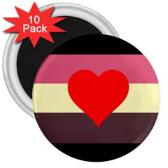 Fat Fetish 3  Magnets (10 pack)