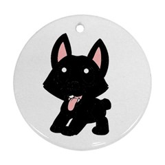 Cane Corso Cartoon Ornament (round)