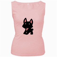 Cane Corso Cartoon Women s Pink Tank Top