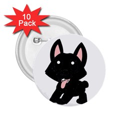 Cane Corso Cartoon 2 25  Buttons (10 Pack)