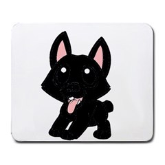Cane Corso Cartoon Large Mousepads