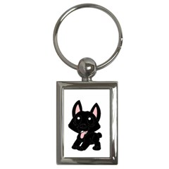 Cane Corso Cartoon Key Chains (rectangle)