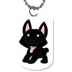 Cane Corso Cartoon Dog Tag (one Side)
